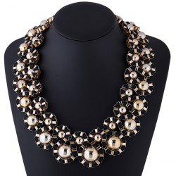 Cloth Rope Alloy Necklace -