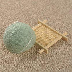 Semisphere Facial Cleansing Sponge - GREEN