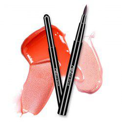 Telescopic Design Fiber Lip Brush -