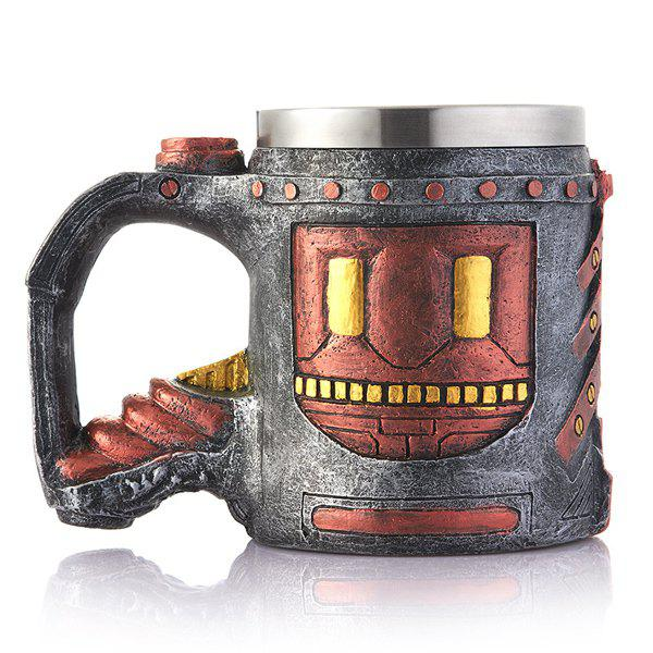 Fashion Drinkware Ancient Castle Pattern Resin Coffee Wine Mug