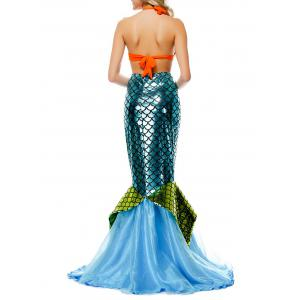 Sequin Maxi Mermaid Cosplay Costume -