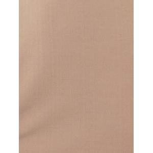 Manches longues Pure Color Club robe - Carnation M