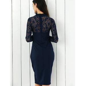 Lace Panel Club Dress -