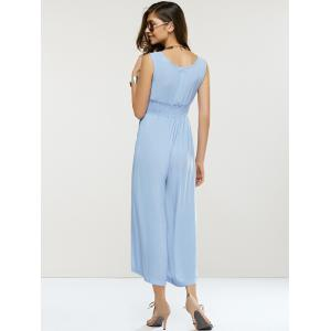 Loose-Fitting Sleeveless High Waist Jumpsuit -