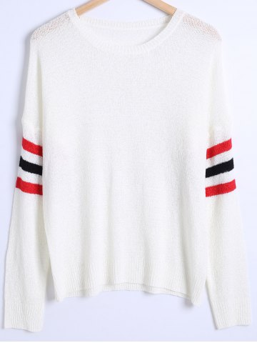 Shop Loose Fitting Striped Sweater