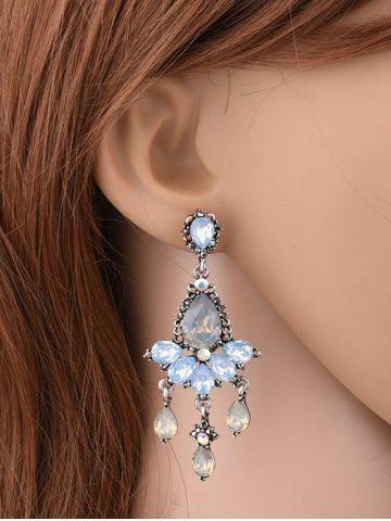 Cheap Rhinestone Water Drop Party Jewelry Earrings