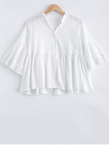 Online Loose Frilled Blouse