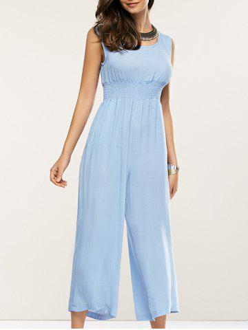 Outfits Loose-Fitting Sleeveless High Waist Jumpsuit