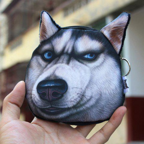 Outfit Creative Dog Coin Bag - BLACK  Mobile