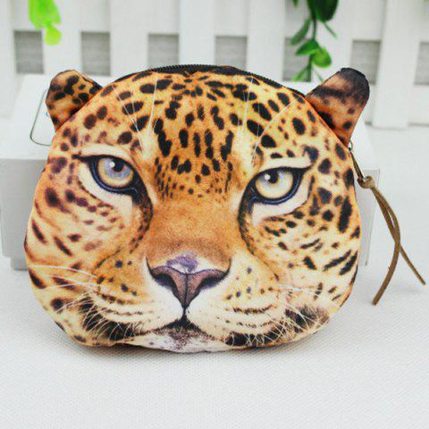Latest 3D Animal Coin Bagse - LEOPARD  Mobile