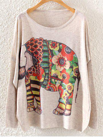 Shop Loose Plus Size Graphic Sweaters