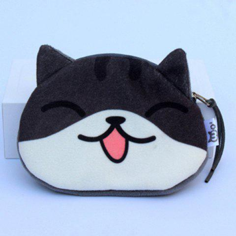 Cartoon Imprimer Zip Purse Imprimé Coin