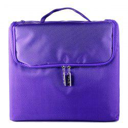 Detachable Nylon Oxford Layered Cosmetic Case