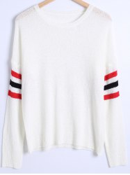 Loose Fitting Striped Sweater -