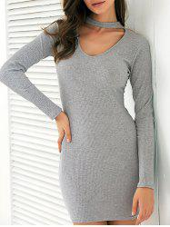 Long Sleeve Club Bodycon Dress