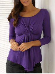 Casual Twist Blouse -
