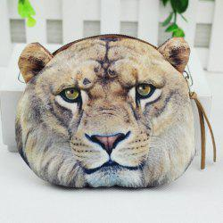 3D Animal Coin Bagse - GRAY