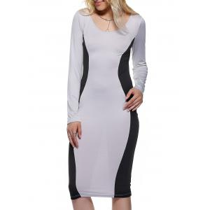 Long Sleeve Hourglass Dress