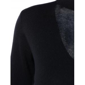 Cut Out Long Sleeve Sweater -