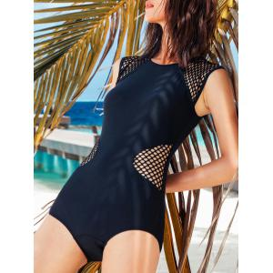 Under Wire Open Back One-Piece Swimwear -