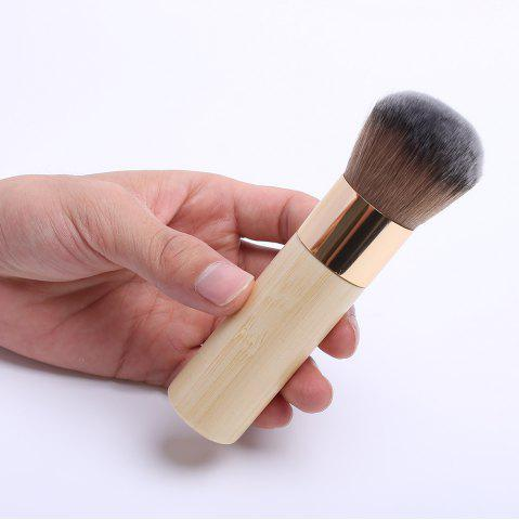 Chunky Nylon Powder Brush - LIGHT YELLOW