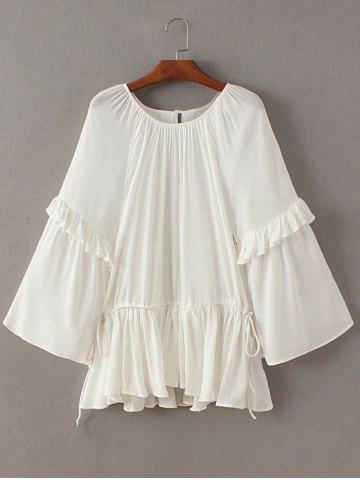 Outfits Flouncing Frilled Side Strappy Blouse