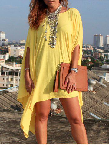 Outfit Asymmetric Tunic Loose Casual Tunic Dress