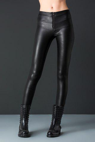 Outfits Leather Pencil Pants