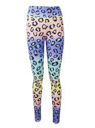 Active Colorful Print Leggings -
