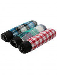 Cherlamode 3PCS Checked Pattern Boxer Shorts