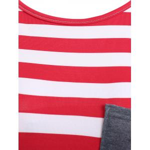 Striped Pocket Tunic T-Shirt -