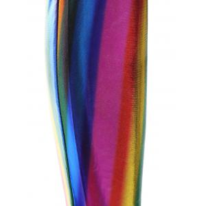 Skinny Rainbow Colored High-Waist Pants - COLORMIX ONE SIZE