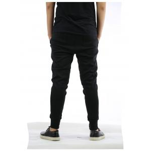 Splicing Design Elastic Waist Beam Feet Jogger Pants -