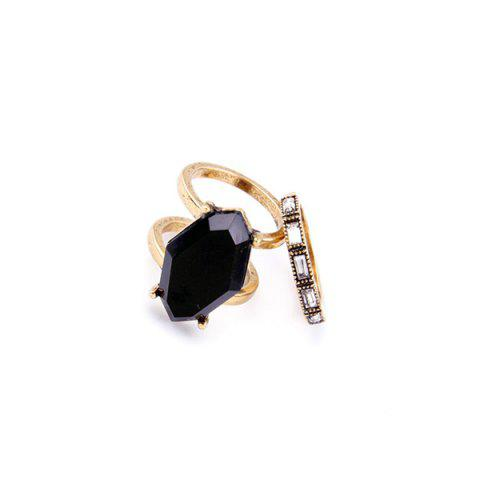 Buy Faux Gemstone Polygon Rings
