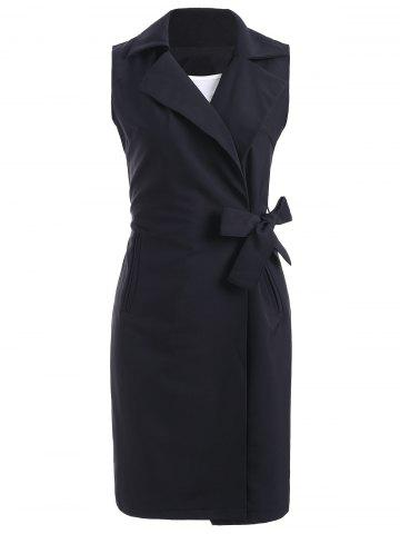 New Belted Wrap Coat and Sundress Twinset