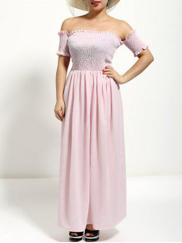 Outfit Off The Shoulder Maxi Formal Prom Dress