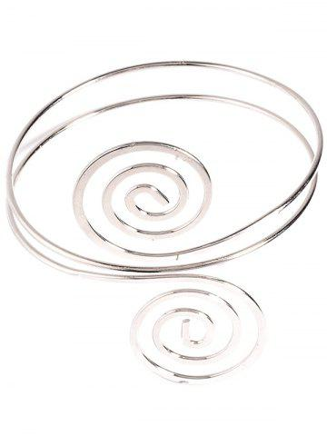Buy Music Note Hollow Out Arm Chain Jewelry - SILVER  Mobile
