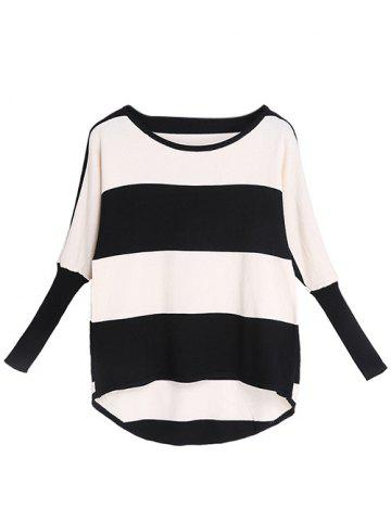 Shops Long Sleeve Striped Knitwear