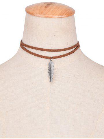 how to make a leather choker necklace