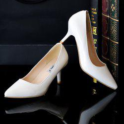Pointed Toe Stiletto Heel Pumps