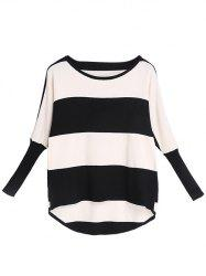 Long Sleeve Striped Knitwear -