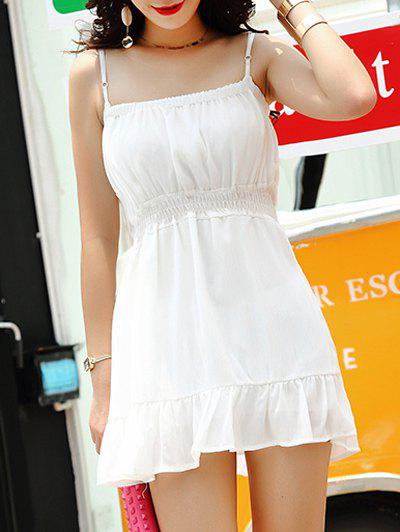 Buy Spaghetti Strap Flounce Dress