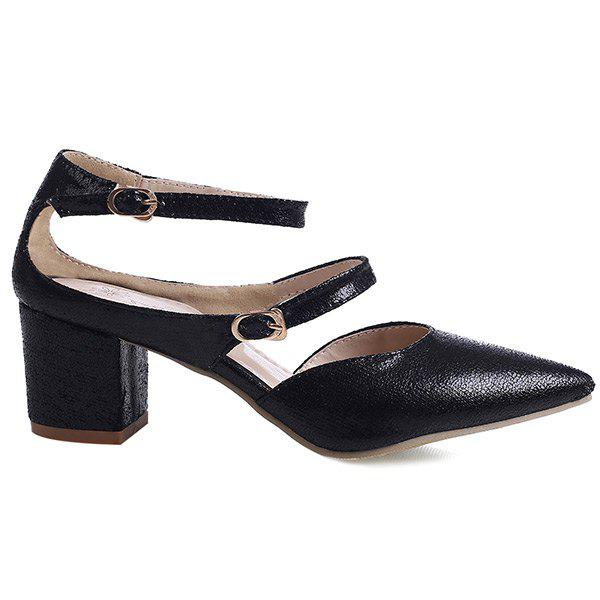 Hot Ankle Strap Point Toe Pumps