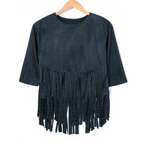 Tassles Design Short Sleeve T-Shirt