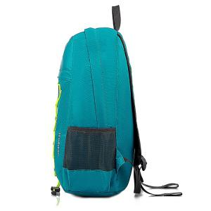 Zippers Nylon Cross Straps Backpack -