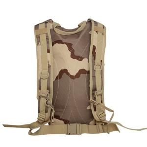 Camouflage Imprimer Mesh Splicing Backpack -