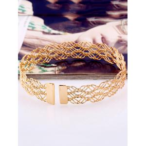 Alliage creux multicouches Out Collier Choker -
