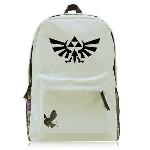 Buy Casual Colour Splicing and Canvas Design Backpack For Men