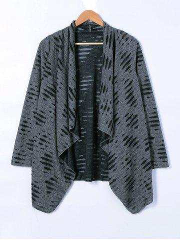 New Ripped Loose Cardigan