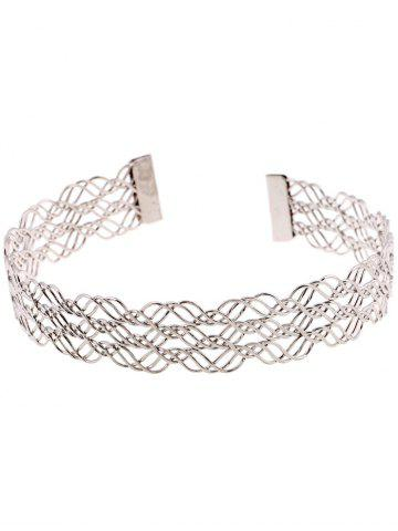 Alliage creux multicouches Out Collier Choker